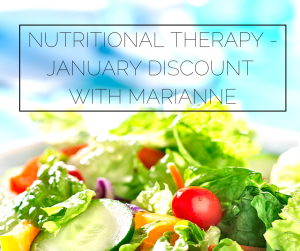 Nutritional therapy for your new year's