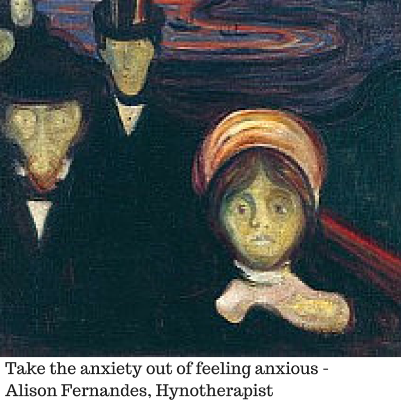 Take the anxiety out of feeling anxious