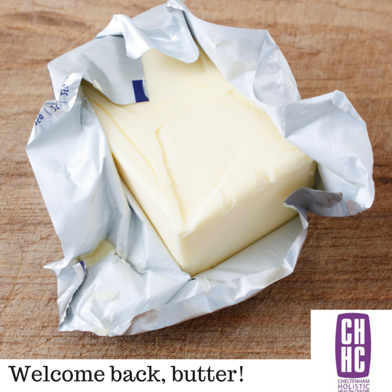 Welcome back, butter!